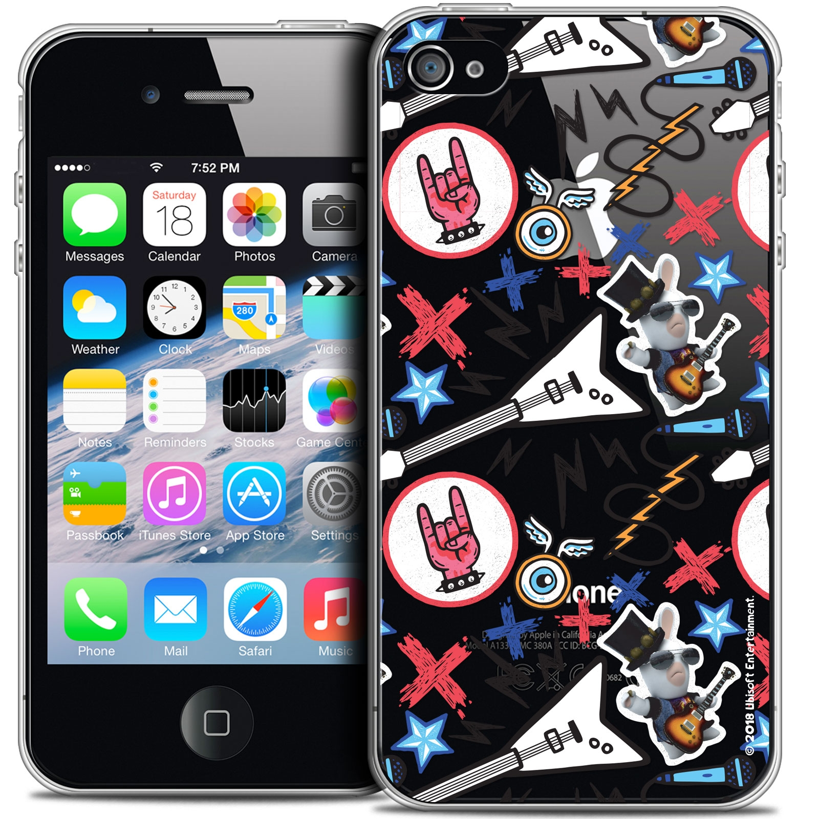 coque iphone 4 skull