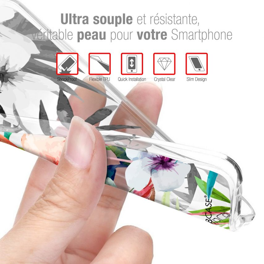 Coque iPhone 4/4s Extra Fine Lapins Crétins™ - Love Pattern