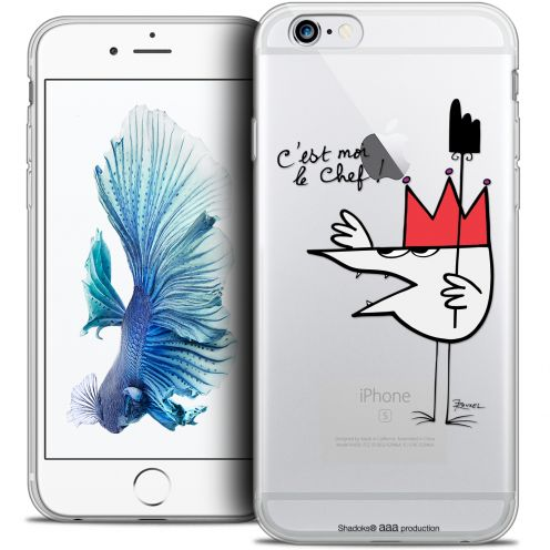 Extra Slim Crystal iPhone 6/6s Case Les Shadoks® Le Chef