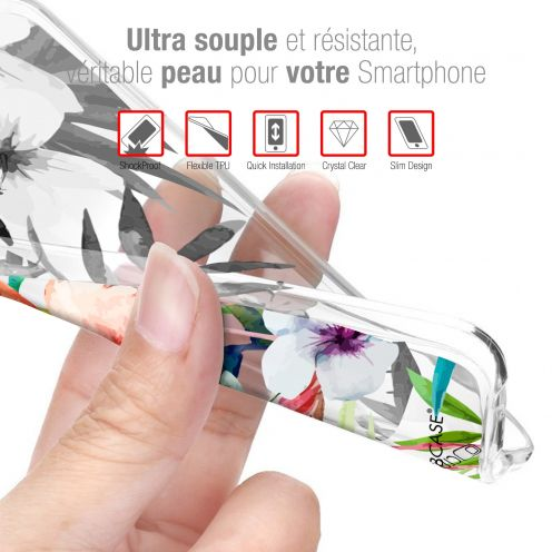 """Extra Slim Crystal Gel Wiko Lenny 4 PLUS (5.5"""") Case Les Shadoks® Le Travail"""