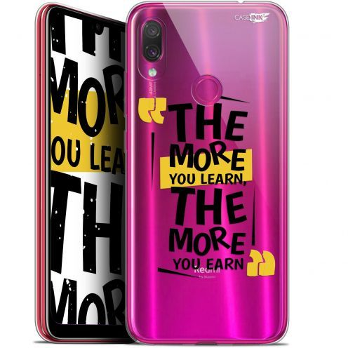 "Coque Gel Xiaomi Redmi Note 7 (6.3"") Extra Fine Motif - The More You Learn"