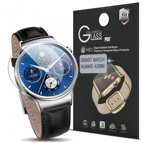 Glass Pro+ Ultra HD 9H 0.33mm Tempered Glass Screen Protector for Huawei Watch 42mm
