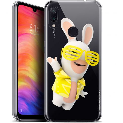 "Coque Gel Xiaomi Redmi Note 7 (6.3"") Extra Fine Lapins Crétins™ - Sun Glassss!"