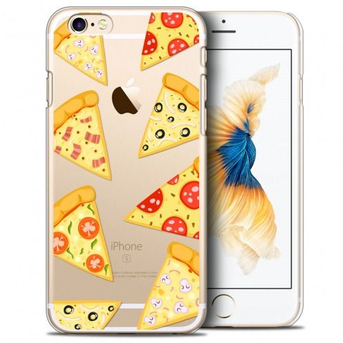 Coque Crystal iPhone 6/6s Plus 5.5 Extra Fine Foodie - Pizza