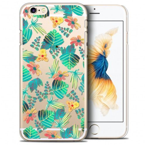 Coque Crystal iPhone 6/6s Plus (5.5) Extra Fine Spring - Tropical