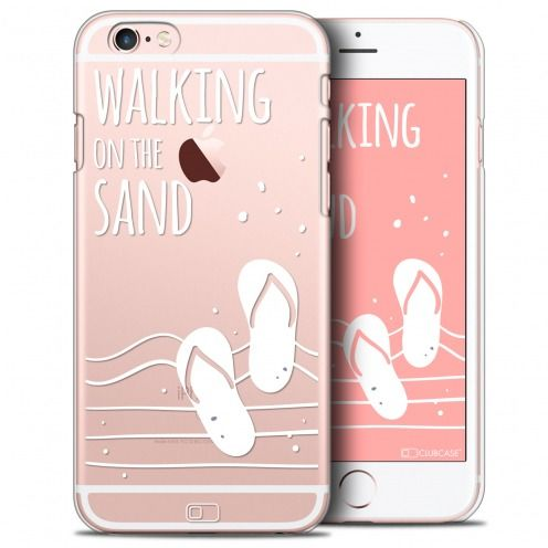 Coque Crystal iPhone 6/6s Plus Extra Fine Summer - Walking on the Sand