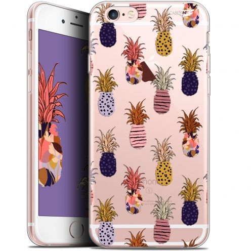 """Coque Gel Apple iPhone 6/6s (4.7"""") Extra Fine Motif - Ananas Gold"""
