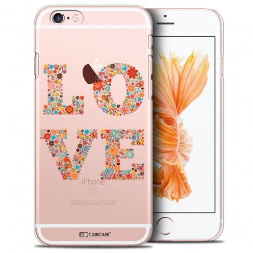 Coque Crystal iPhone 6/6s Plus Extra Fine Summer - Love Flowers