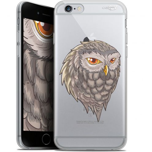 "Coque Gel Apple iPhone 6 Plus/ iPhone 6s Plus (5.5"") Extra Fine Motif - Hibou Draw"