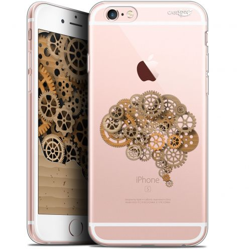 "Coque Gel Apple iPhone 6 Plus/ iPhone 6s Plus (5.5"") Extra Fine Motif - Mécanismes du Cerveau"