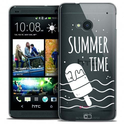 Carcasa Crystal Extra Fina HTC One (M7) Summer Summer Time