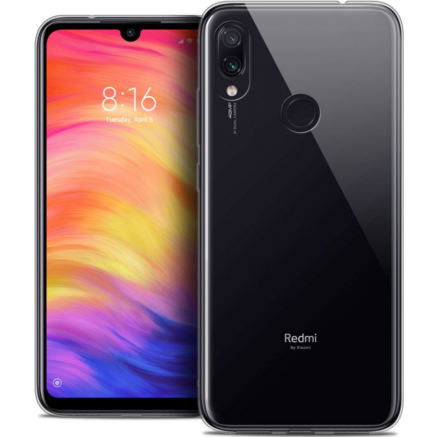 "Coque Xiaomi Redmi Note 7 (6.3"") Extra Fine Souple Crystal Clear"