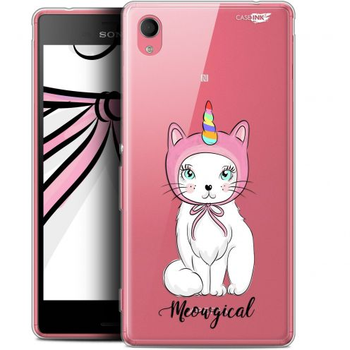 "Extra Slim Gel Sony Xperia M4 Aqua (5"") Case Design Ce Chat Est MEOUgical"