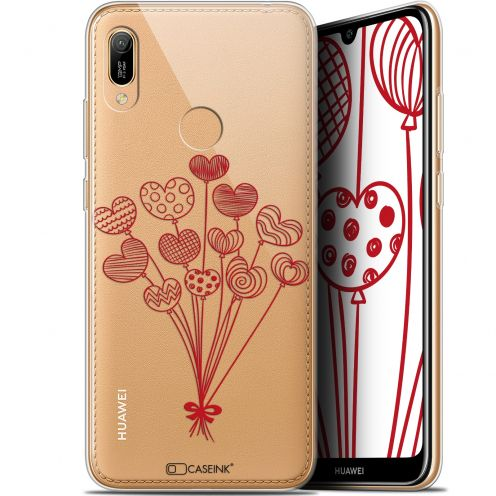 "Coque Gel Huawei Y6 2019 (6.1"") Extra Fine Love - Ballons d'amour"