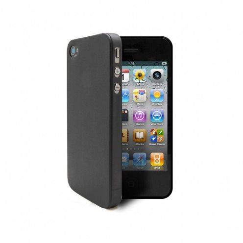 Coque Ultra Fine 0.3mm Frost iPhone 4/4S Noire