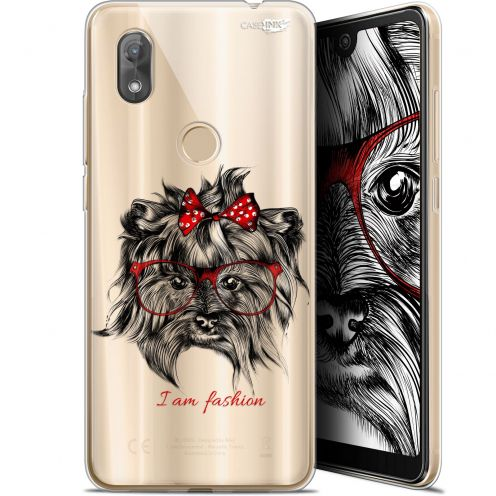 "Coque Gel Wiko View 2 (6"") Extra Fine Motif - Fashion Dog"
