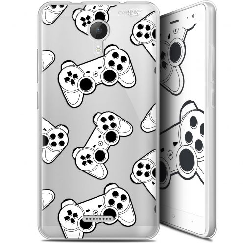"Extra Slim Gel Wiko Jerry 2 (5.0"") Case Design Game Play Joysticks"