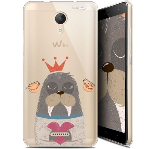 "Extra Slim Gel Wiko Jerry 2 (5.0"") Case Design Sketchy Walrus"