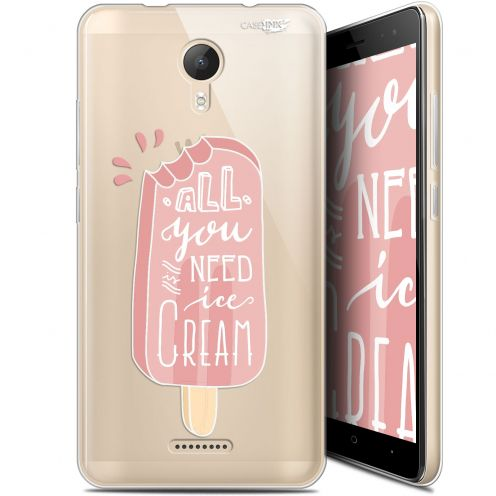 "Extra Slim Gel Wiko Jerry 2 (5.0"") Case Design Ice Cream"