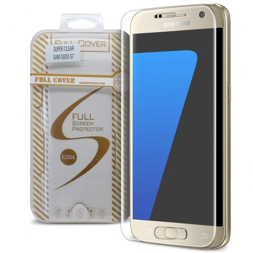 Protection d'écran Verre trempé Samsung Galaxy S7 Full Cover Ultra Clear – 9H HD 0.33mm 2.5D