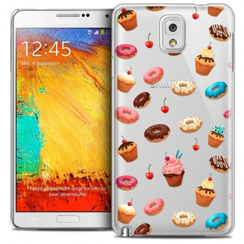 Coque Crystal Galaxy Note 3 Extra Fine Foodie - Donuts
