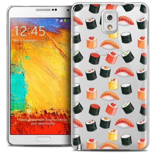 Coque Crystal Galaxy Note 3 Extra Fine Foodie - Sushi