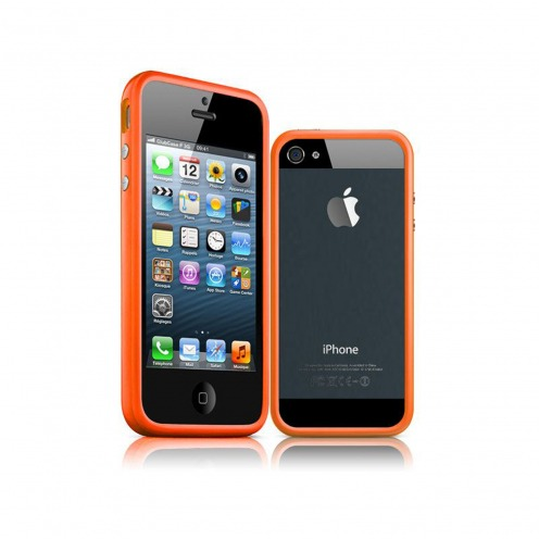 Coque Bumper iPhone 5 / 5S / SE HQ Orange