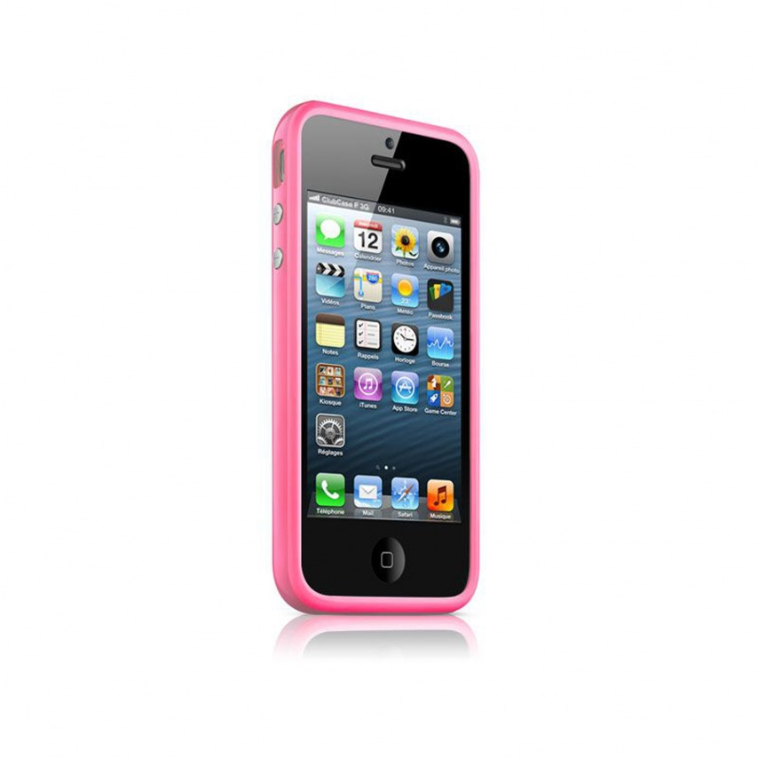 Visuel unique de Coque Bumper iPhone 5 - 5S HQ Rose