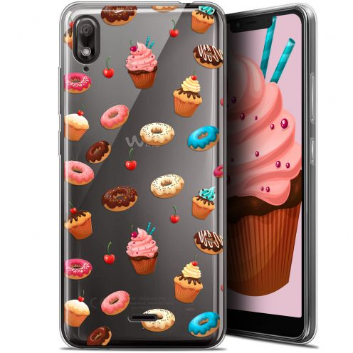 "Coque Gel Wiko View 2 GO (5.93"") Extra Fine Foodie - Donuts"