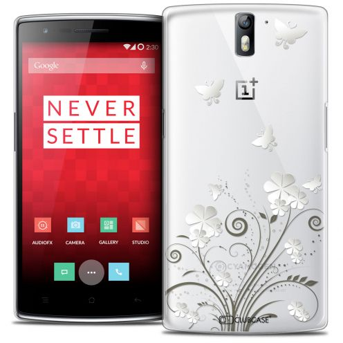 Coque Crystal Rigide OnePlus One Extra Fine Summer - Papillons