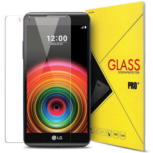 Protection d'écran Verre trempé LG X Power (K220) - 9H Glass Pro+ HD 0.33 mm 2.5D