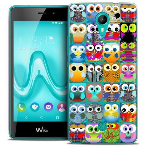 Coque Crystal Gel Wiko Tommy Extra Fine Claude - Hibous