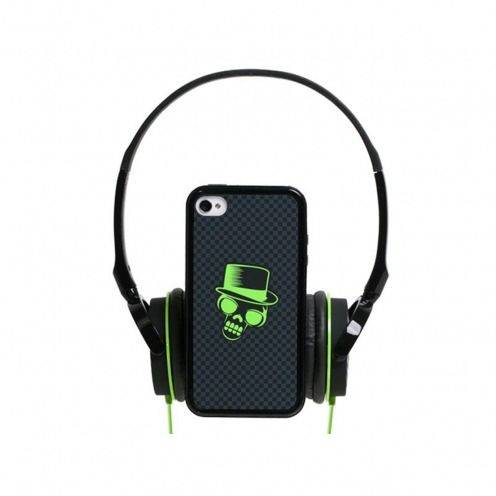 Coffret casque audio avec bumper à dos amovible Blueway® So Rock Skull edition