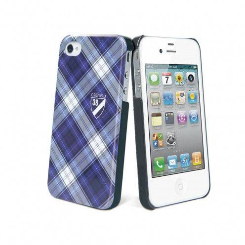 Coque Crémieux 38® Fashion Back Bleue pour iPhone 4S/4