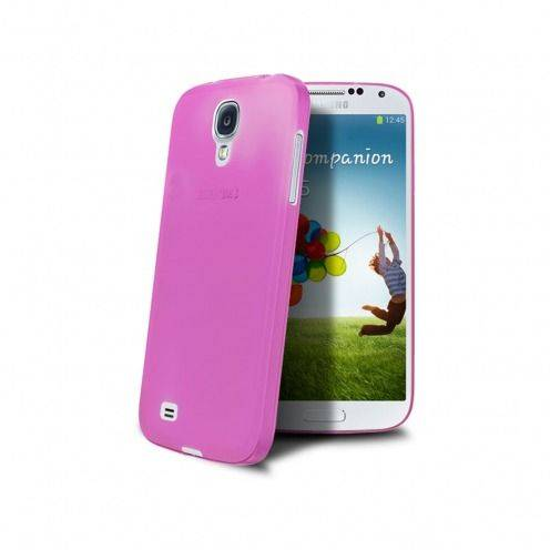 Coque Ultra Fine 0.3mm Frost Samsung Galaxy S4 Rose