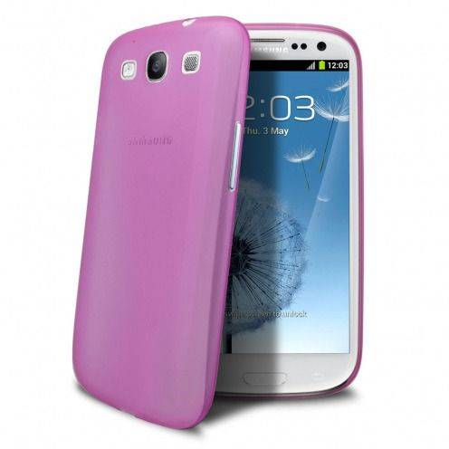 Ultra thin Case 0.3 mm Frost for Samsung Galaxy S3 Pink