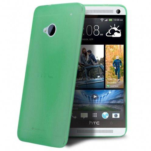 Carcasa Ultra Fina 0.3 mm Frost HTC One Verde