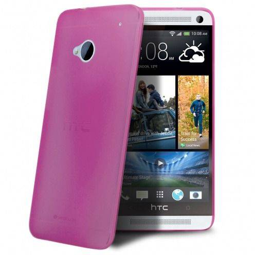 Coque Ultra Fine 0.3mm Frost HTC One Rose
