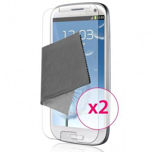 Clubcase ® Ultra Clear HQ screen protector for Galaxy S3 2-Pack