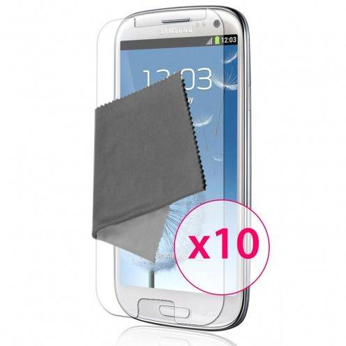 Clubcase ® Ultra Clear HQ screen protector for Galaxy S3 10-Pack