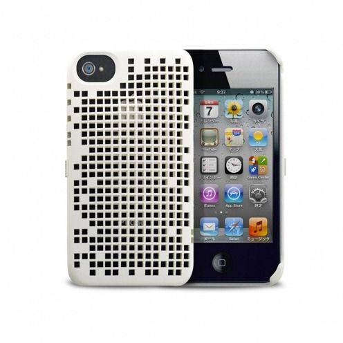 Coque Freshfiber® Double Mesh iPhone 4S/4 Blanche