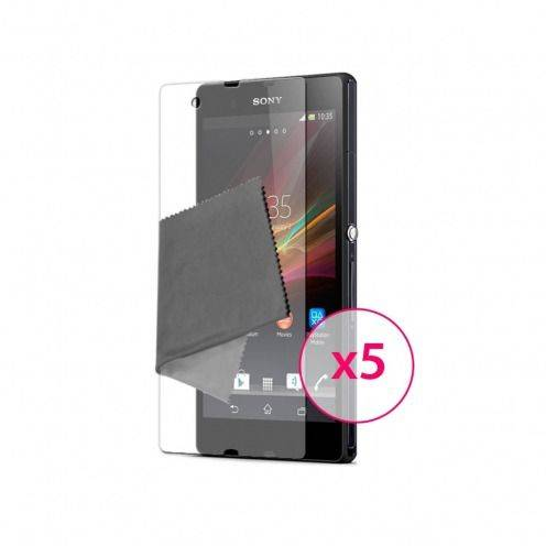 Zoom sur Films de protection Sony XPERIA Z Clubcase ® HD Lot de 5