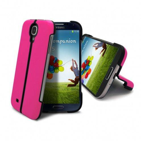 Coque Sport Line Stand Galaxy S4 Rose