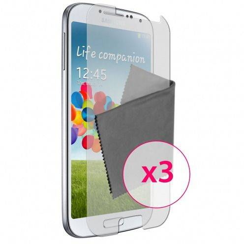 Films de protection Anti-Reflet Galaxy S4 Clubcase ® Lot de 3