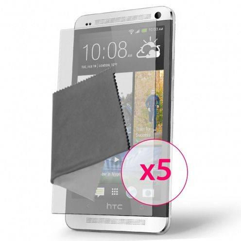Films de protection Anti-Reflet HTC One Clubcase ® Lot de 5