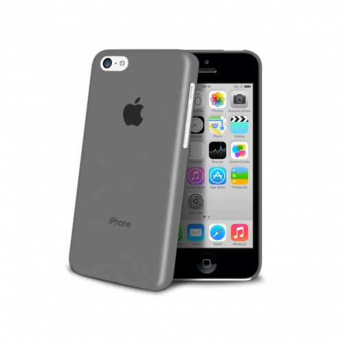 Coque Ultra Fine 0.3mm Frost iPhone 5C Noire