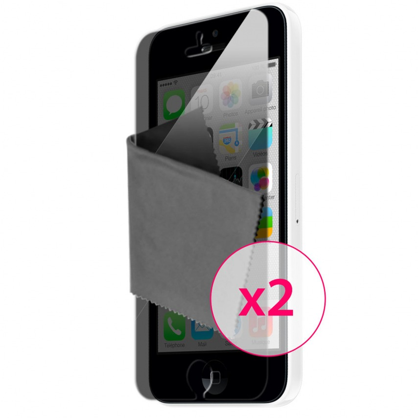 Clubcase ® Privacy HQ screen protector for iPhone 5C 2-Pack