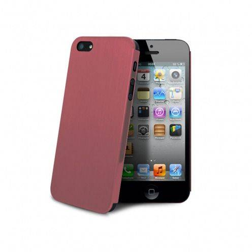 Coque Ultra-Fine 0,3 mm métal brossé Acero iPhone 5 / 5S / SE Rose