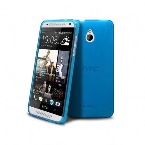Frozen Ice Extra Slim soft blue case for HTC One mini