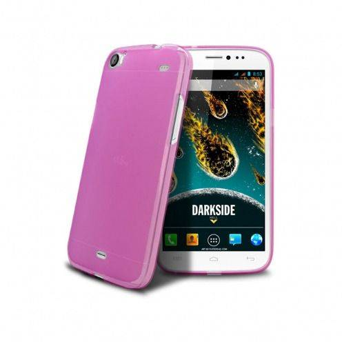 Coque Wiko DARKSIDE Frozen Ice Extra Fine Rose